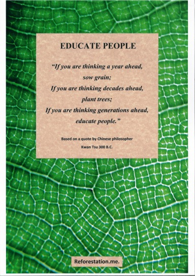 """Educate People"" click on ""Enviroment Posters""."