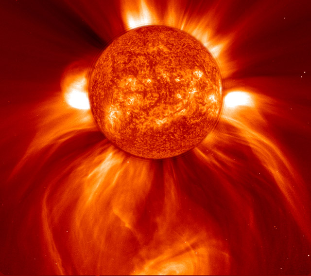 Perhaps changes in solar activity could cause changes in the climate.