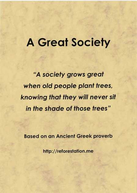 """A Great Society"""