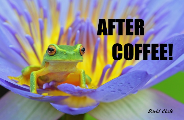 """After Coffee!"" poster by David Clode."