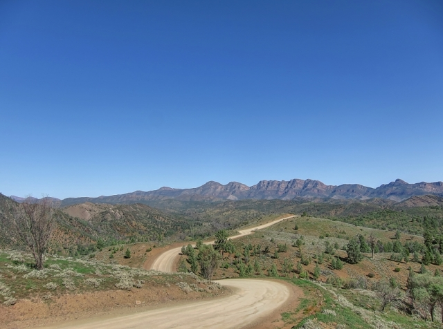 Flinders Ranges, Soth Australia. photo: Bryan Clode.