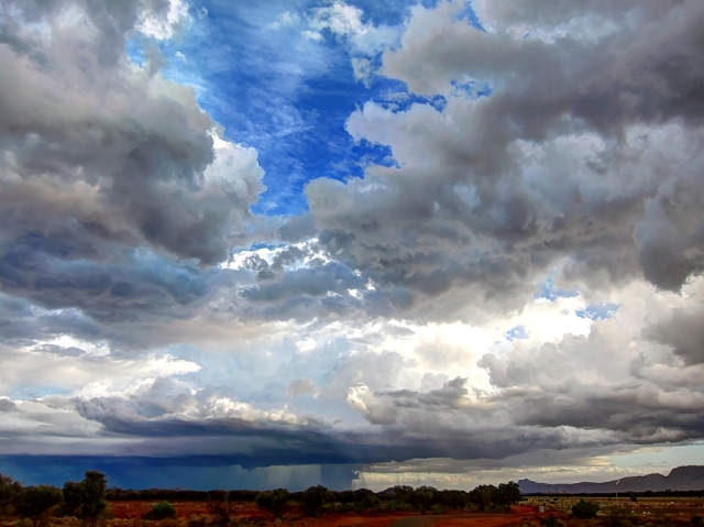 Storm in the Australian Outback (Papunya). Photo: Bryan Clode.