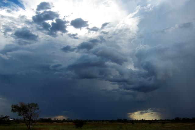Rain storm. Photo: Bryan Clode.
