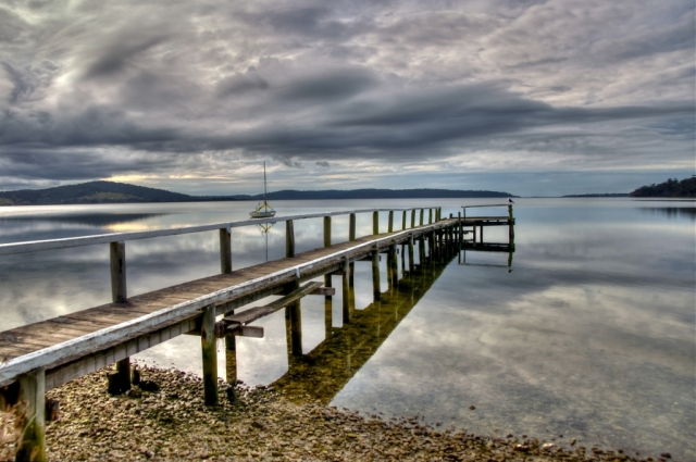 Jetty, St Helens, Tasmania. Photo: Bryan Clode.