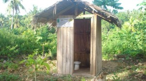 Arborloo in Libertad, Mindanao, Philippines. Photo: Kalatas Media.
