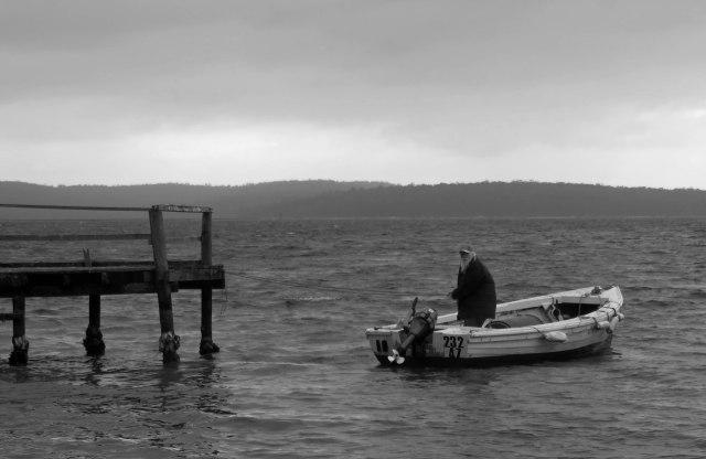 """Old Man of the Sea"". Georges Bay, Tasmania. Photo: David Clode."