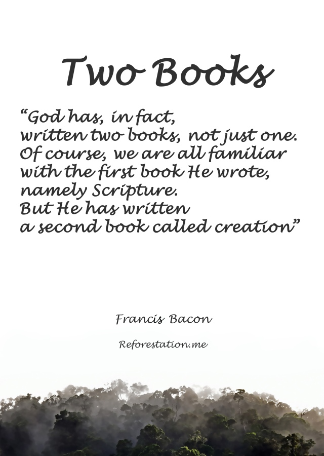 Two books poster by David Clode.