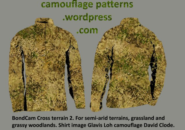 Grassy Woodland camouflage design by David Clode.