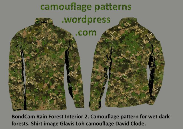 Rain Forest Camouflage design by David Clode.