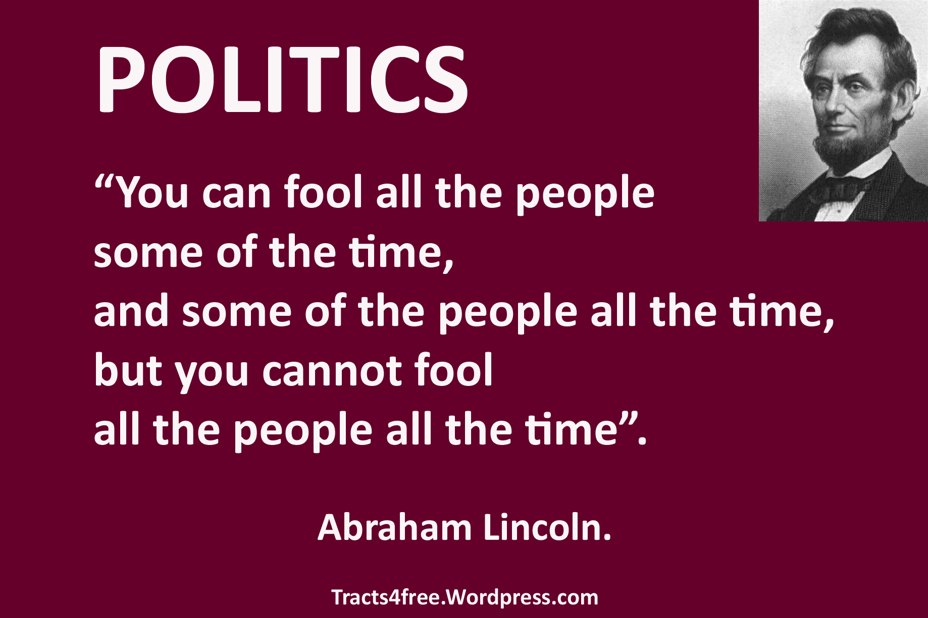 LincolnFoolThePeople